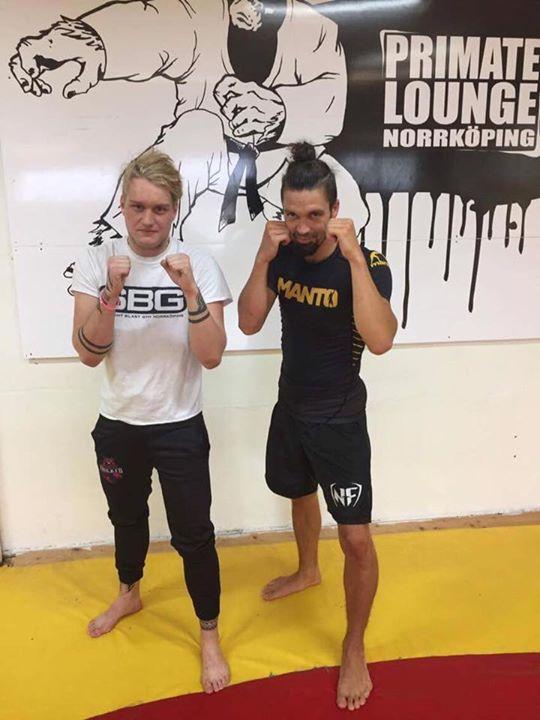 Stort grattis till Hampus Landin som igår slutförde sin MMA/Thaiboxning Steg 1 k…