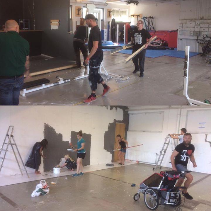 Första dagen av vår klubbs ombyggnation och renovering är nästan över. Tack vare…
