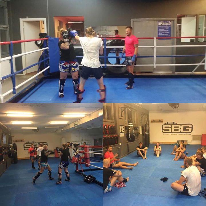 Igår hade vi det stora nöjet att ha ett läger i Thaiboxning med Erik Bengtsson f…
