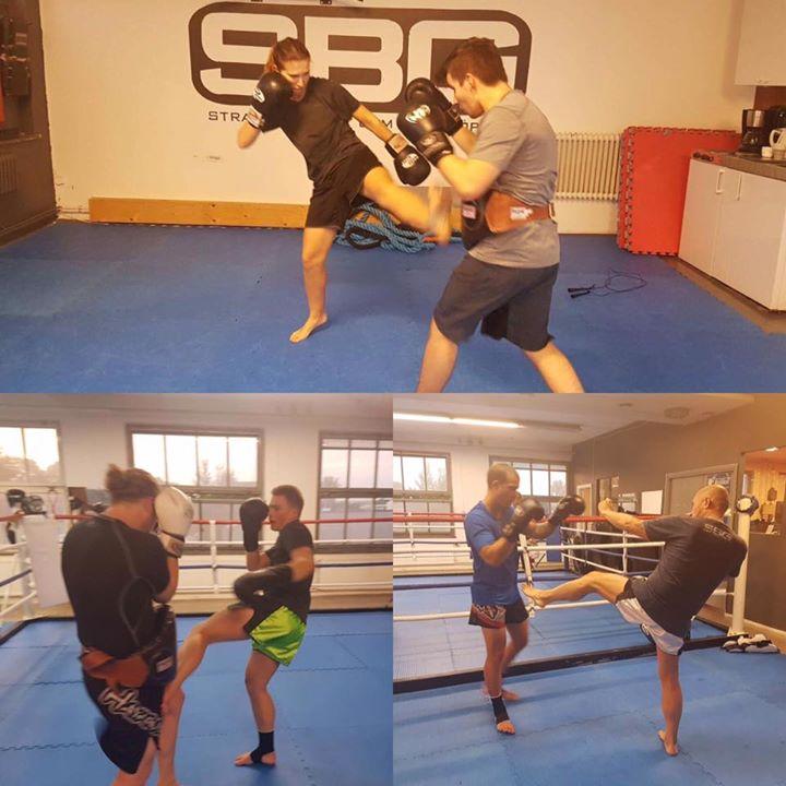 På gårdagens Thaiboxning Steg 3 pass var det fullt ös på våra tränande!