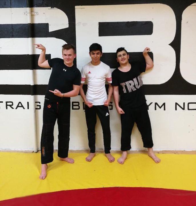 Stort grattis Charlie, Mohammed och Mario som alla tre slutförde sin BJJ Steg 1 …