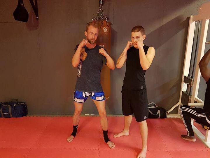 Grattis Malte Haglund som avancerar vidare från Thaiboxning/MMA steg 1.  Bra käm…