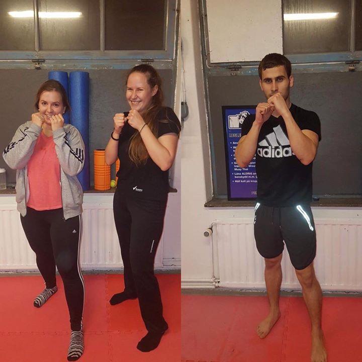 Stort grattis till Sara, Ewa och Sayeed som alla tre slutförde sin Thaiboxning/M…