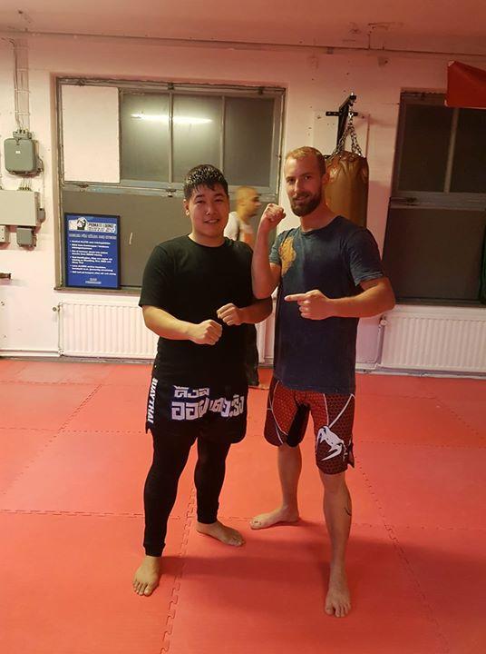 Stort grattis till Roholla som idag slutförde steg 1 i MMA/Thai! Och välkommen u…