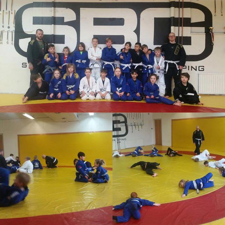 Idag anordnade klubben ett sportlovsläger i Brasiliansk Jiu-Jitsu för våra Growi…