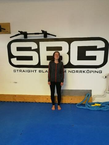 Stort grattis till Wilma Spångberg som idag slutförde sin BJJ Steg 1 kurs!  Myck…