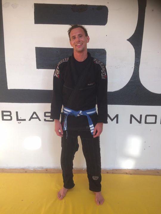 Stort grattis till Alexander Walldén som igår fick sitt tredje streck på det blå…
