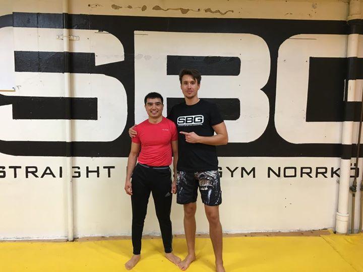 Stort grattis till Munawer Ali som i tisdags avancerade upp till MMA steg 3.  Mu…