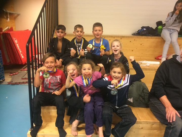 SBG Norrköping åkte upp till Scandinavian BJJ Championship Kids med åtta stycken…