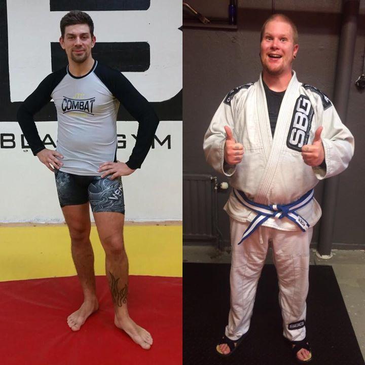 Stort grattis till våra två BJJ-tränande som nådde nya mål i sin träning igår!  …