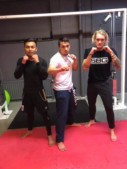 Stort grattis till Hasan och Atiwat som i Torsdags slutförde sin Thaiboxning/MMA…