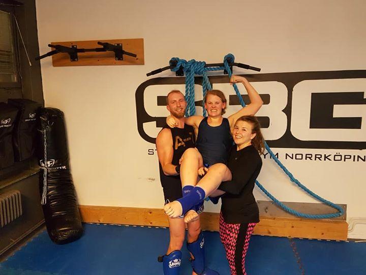 Vår älskade Sara Blåwiik är hädanefter i steg 3!!!  Denna hårding har kämpat och…