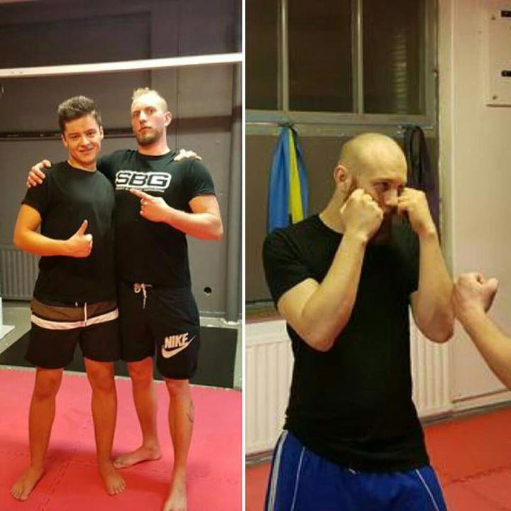 Stort grattis till Martin From och Jesper Lundby som igår slutförde sin MMA/Thai…