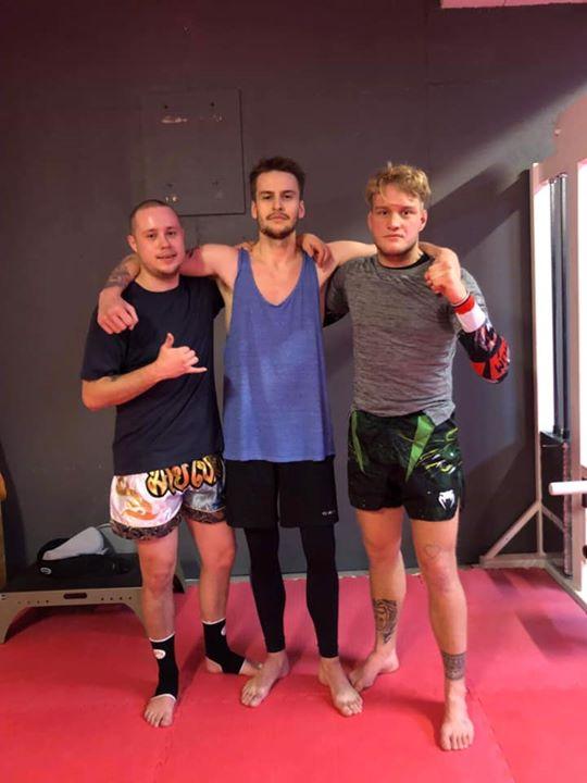 Stort grattis till Sebastian och Alex som både slutförde sin MMA/Thaiboxning Ste…